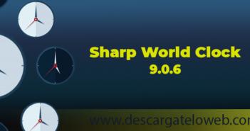 Reloj Mundial Sharp 9.0.6 Full