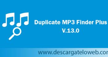 Duplicate MP3 Finder Plus 13.0 Full